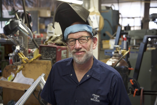 A Conversation With Frank Wadelton, Owner/director, Frank The Welder
