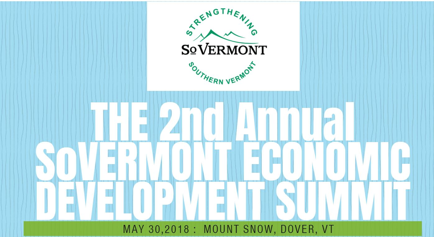 Save The Date: Southern Vermont Economic Development Summit, May 30th
