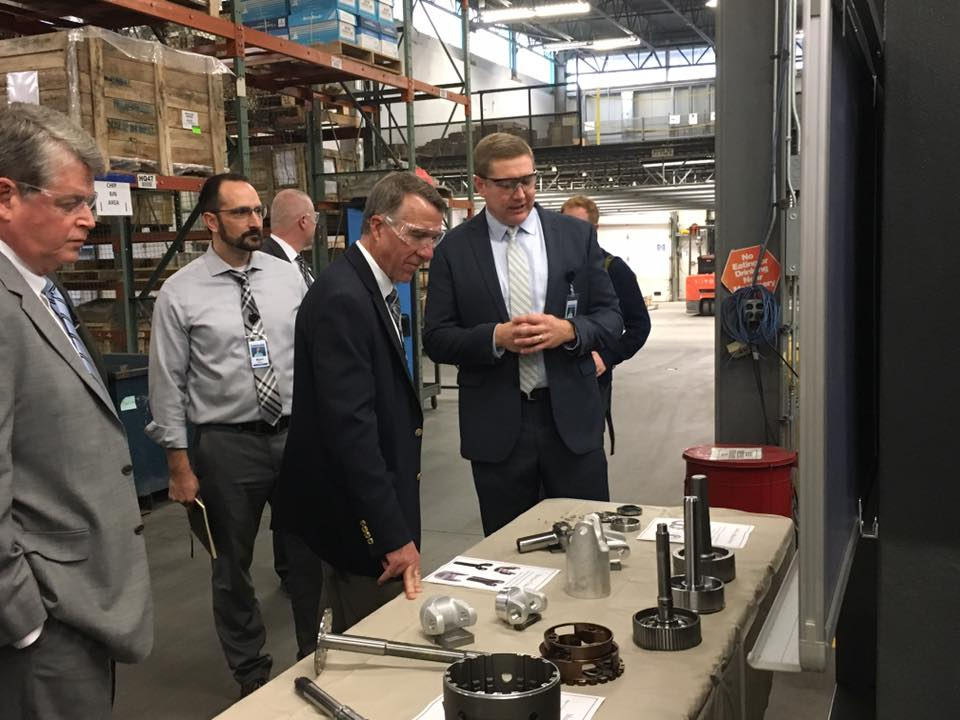 Governor Scott Meets With New Ownership At Sonnax