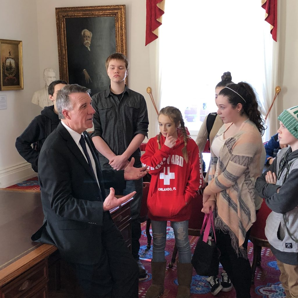 After Designing Their Own Governments, Students Were Prepared With Excellent Questions For Governor Scott, Ranging From Using Private Prisons, Cannabis Legalization, And Dealing With A Democratic Supermajority.