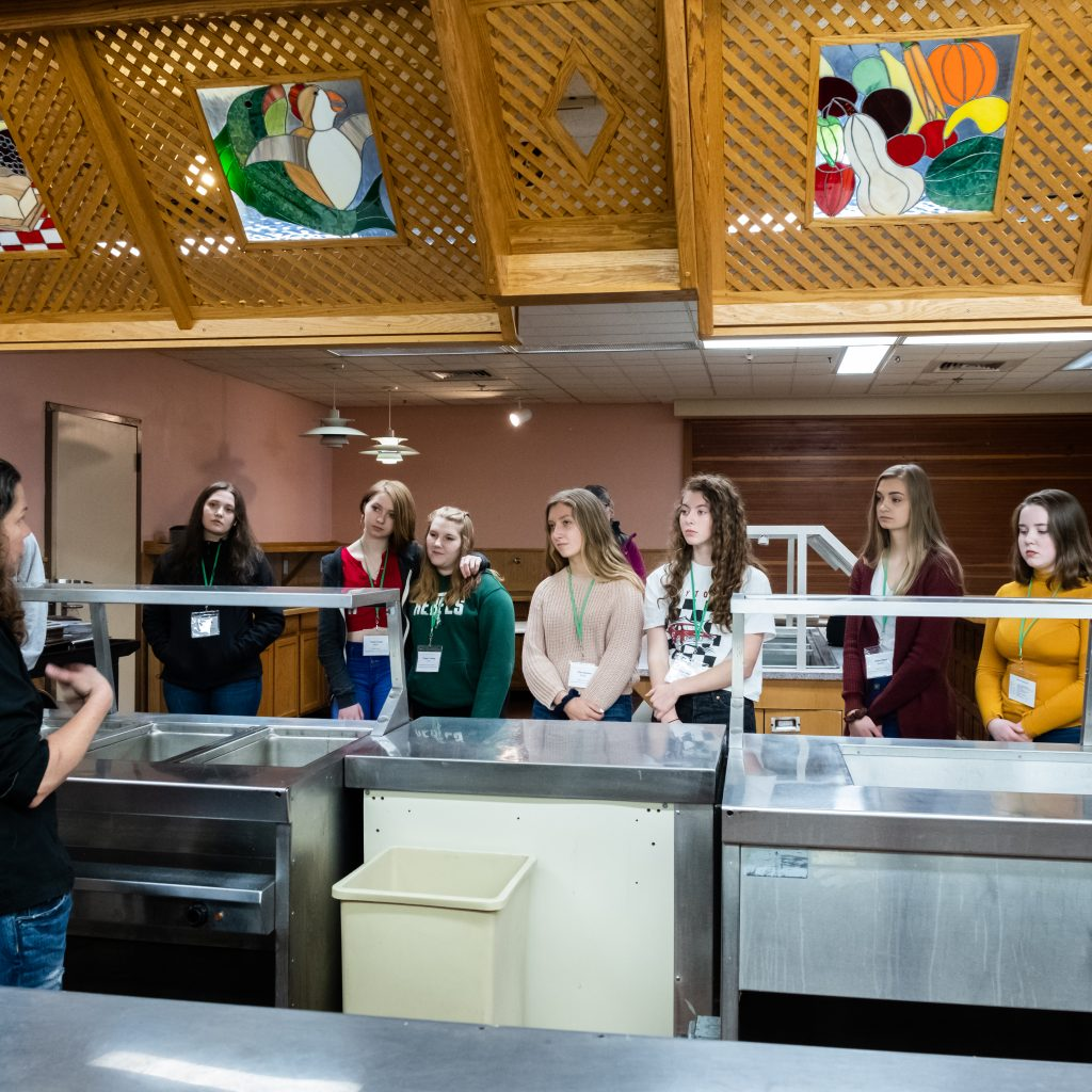 Students Received A Tour Of A Commercial Kitchen As Well, And Heard All Of The Stories About What It's REALLY Like In A Busy Kitchen.