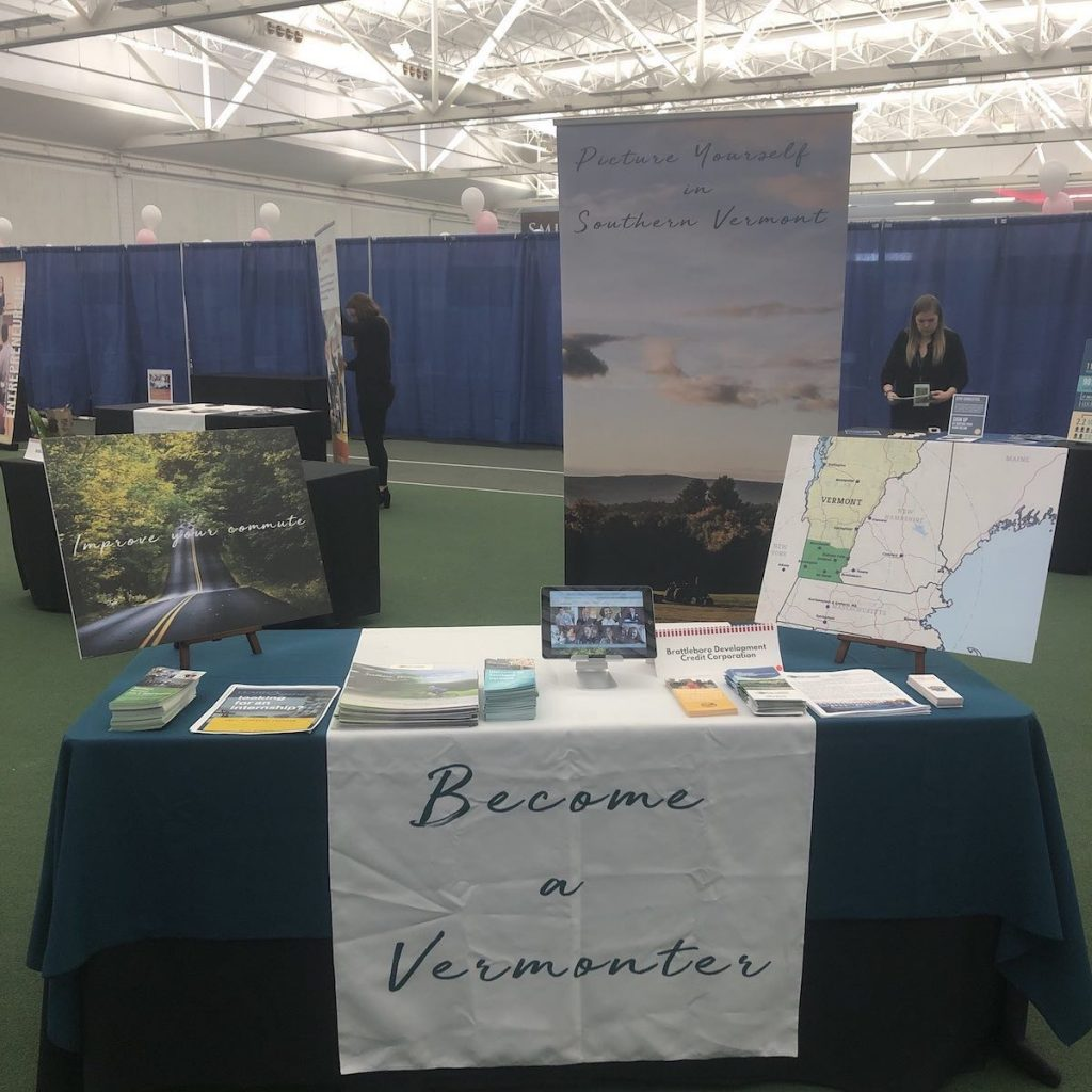 "The SoVermont Display Attracts People Who Say ""yes, I Can Picture Myself In Southern Vermont!"""