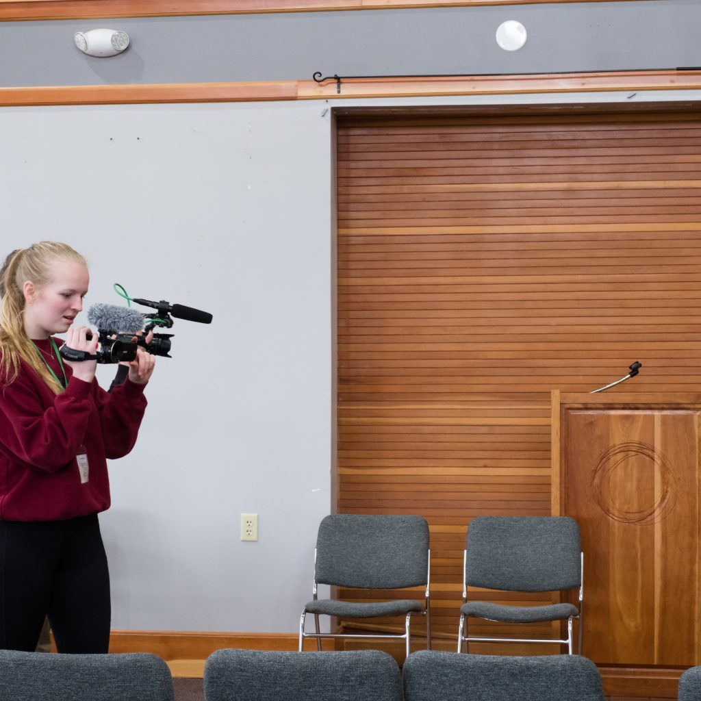 "Throughout The Day, Our In The ""Lights, Camera, ACTION"" Workshop Captured The Action On Video."