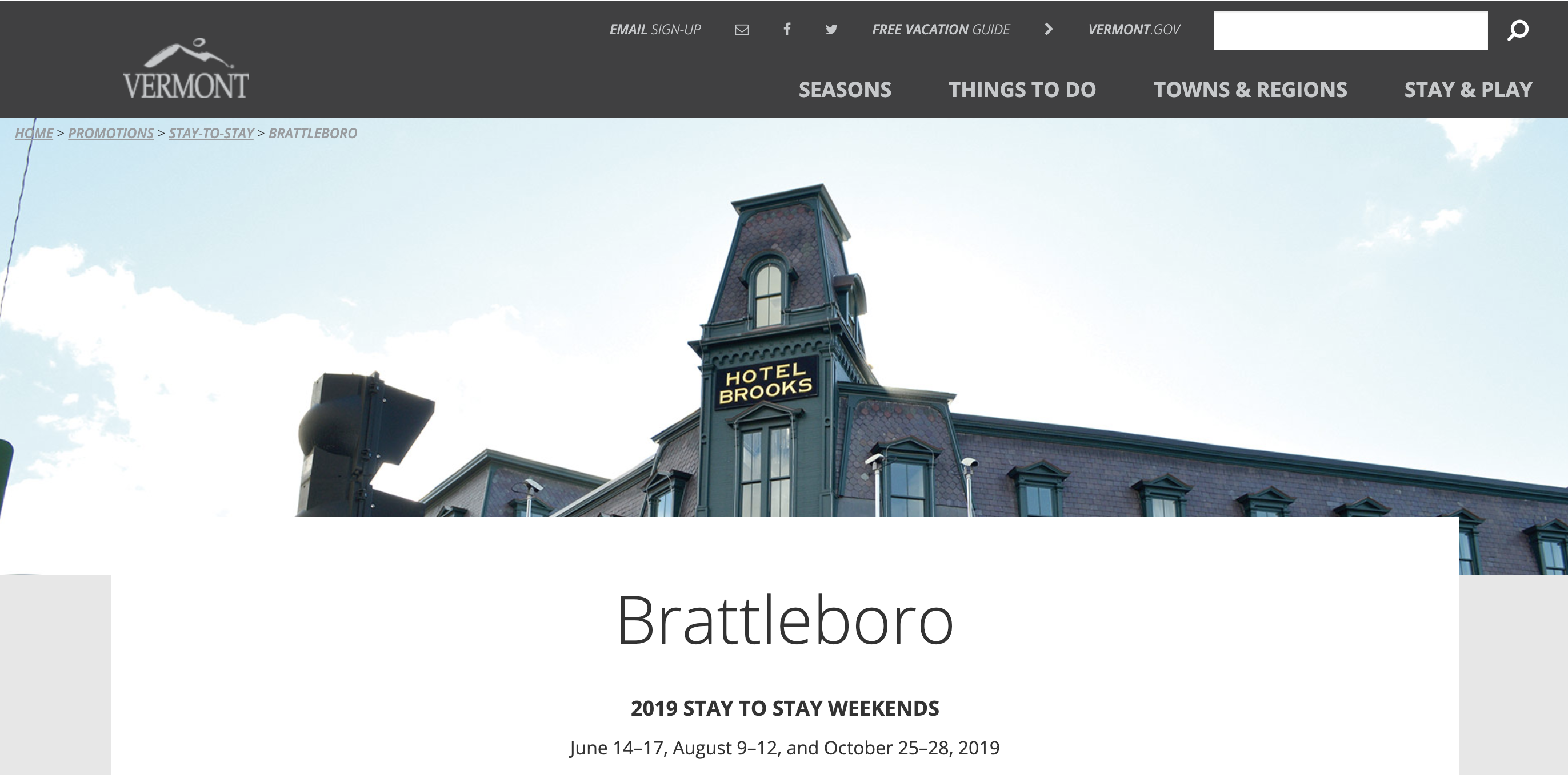 Brattleboro Stay To Stay