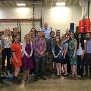 Rep. Peter Welch Meets With Southern Vermont Young Professionals At Mocha Joe's Roasting Warehouse