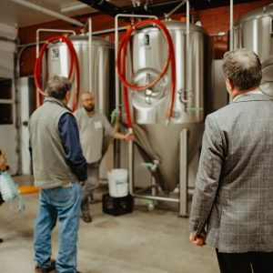 Whetstone Brewery Opened Its Doors To Annual Meeting Attenders For A Tour