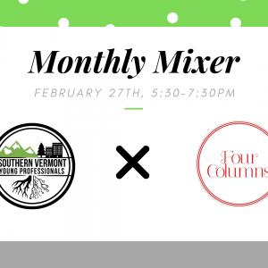 SoVTYPs: February Monthly Mixer @ Four Columns Inn