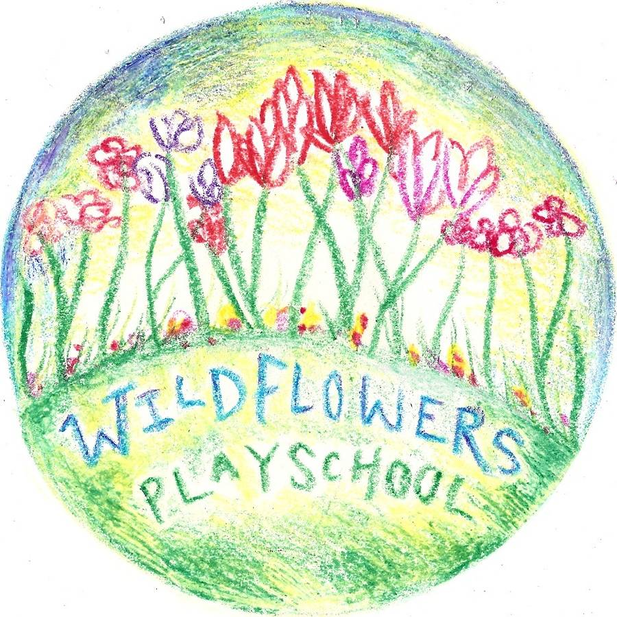 Wildflowers Playschool Logo