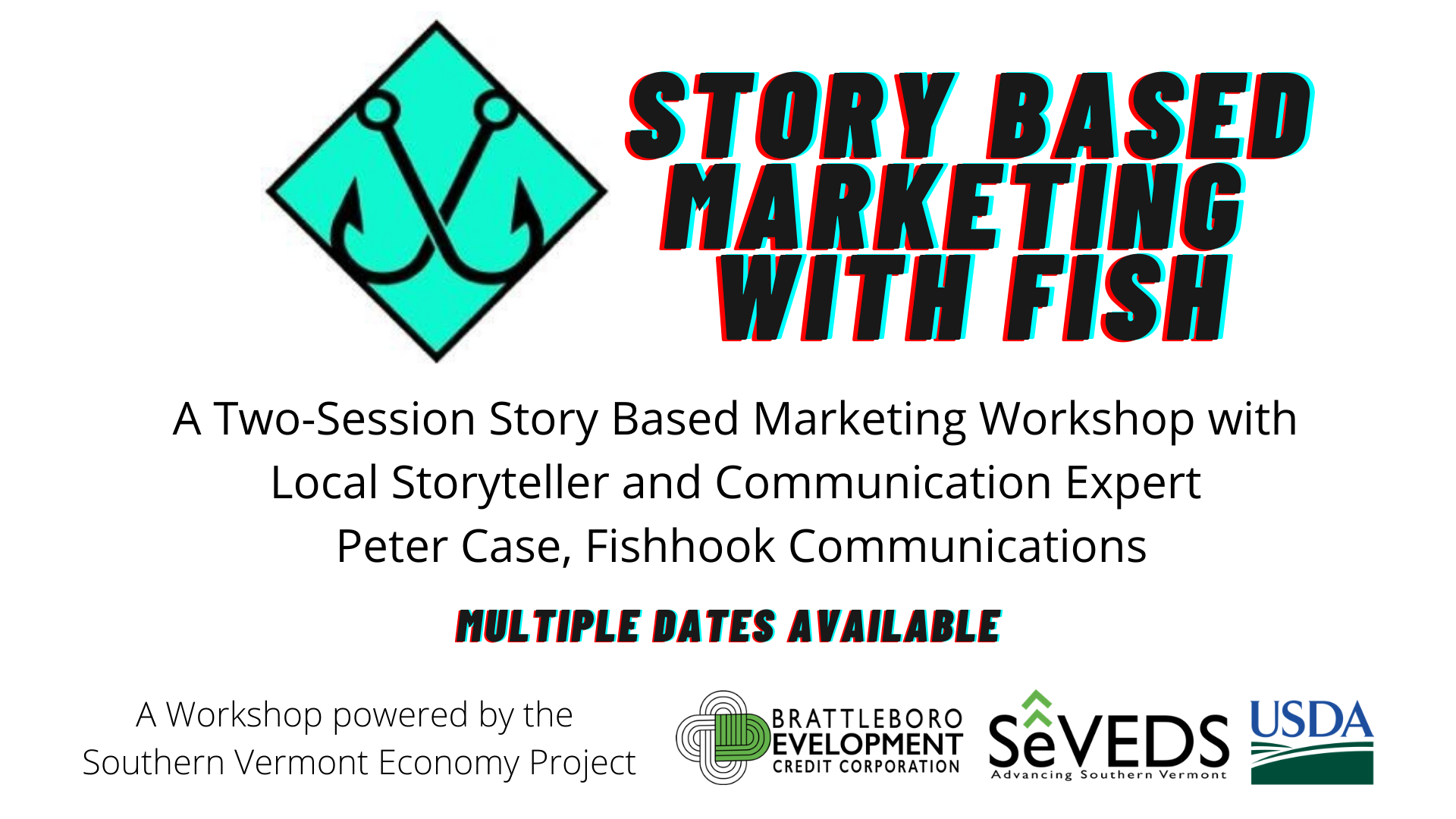 SVEP: Story Based Marketing with Fish for Nonprofits, Municipalities, and Small Businesses (Cohort 3)