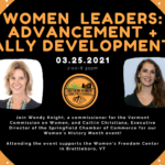SoVTYPs: Women Leaders: Advancement And Ally Development