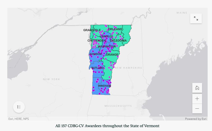 Vermont Grant Awardees
