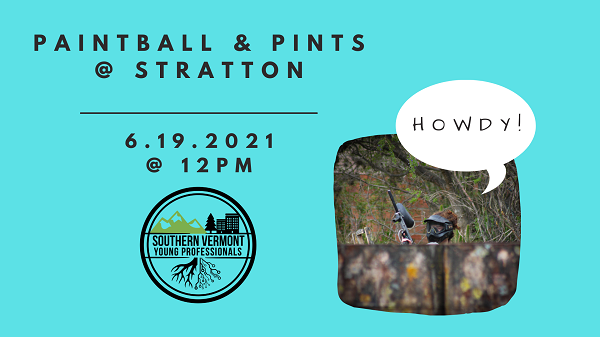 young professionals paintball event